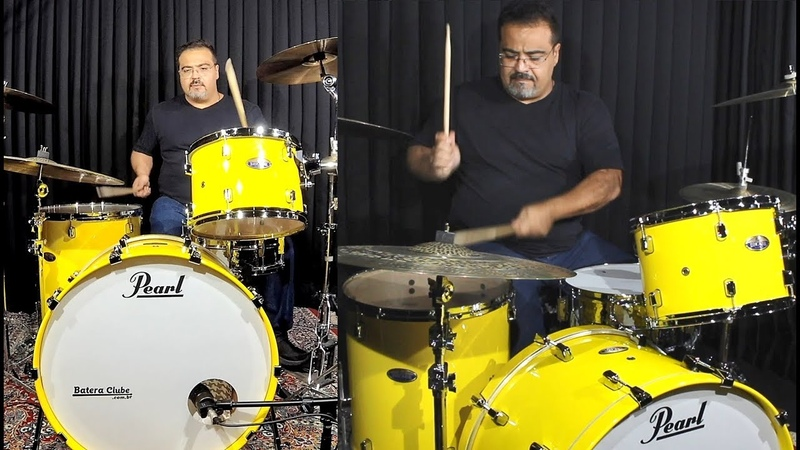 Grave e Pesada! Pearl Decade Rock Yellow Bumbão 24