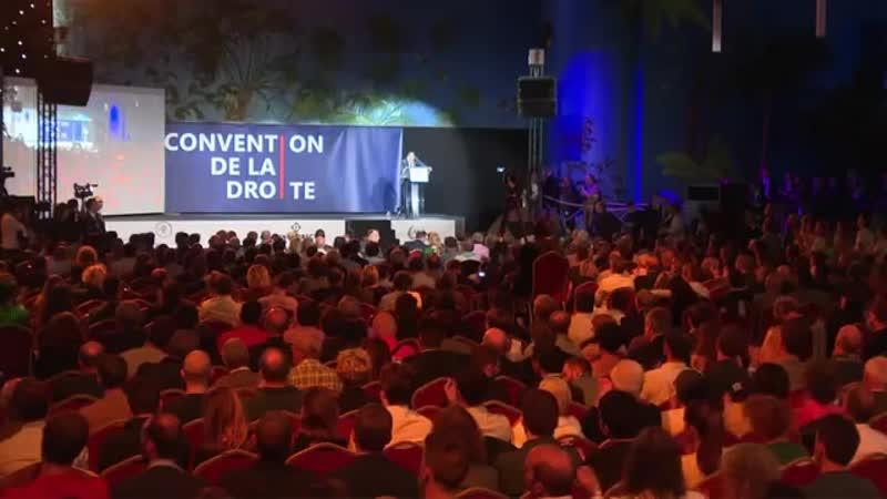 Discours dEric Zemmour à la Convention de la Droite
