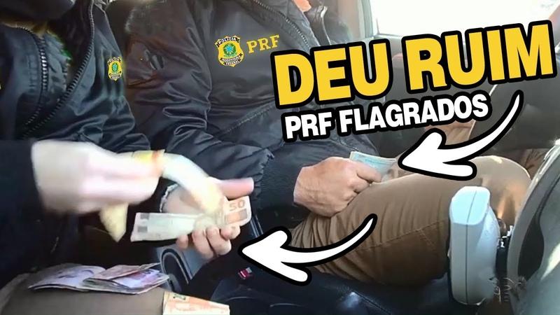 Se FUDE @M Policiais Rodoviários Foram Flagrados Pedindo Propina A corregedoria pegou no flagra
