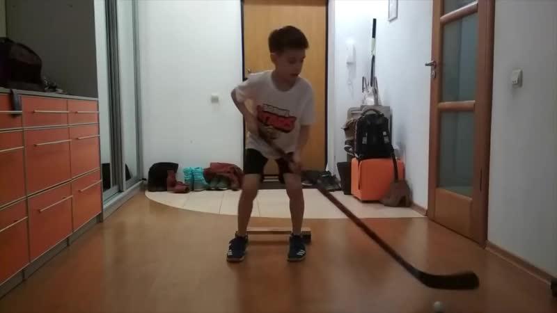 Проект Тренируйся дома Хоккей Видео 36