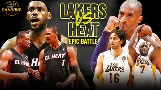 First Year Miami Heat BiG-3 vs Champions Lakers EPiC Battle! | March 10, 2011 | FreeDawkins