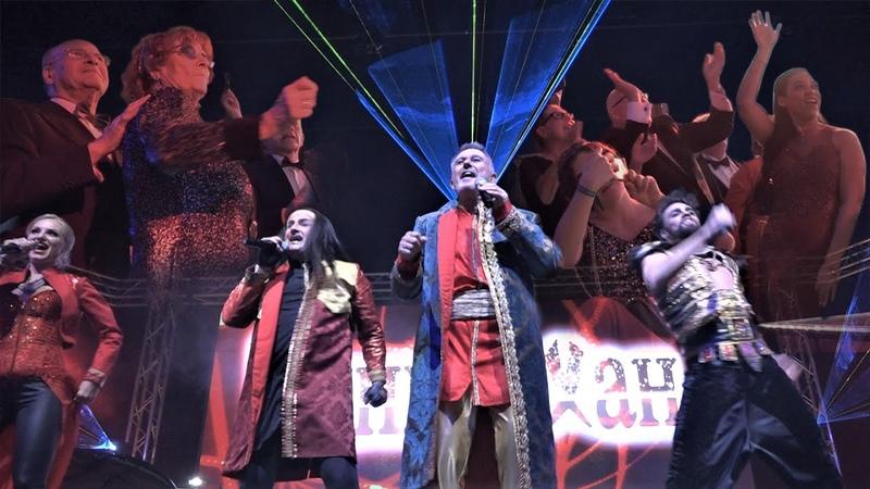Auch in Kiew rasten die Leute bei Moskau aus – Kultband Dschingis Khan auf dem Presseball Berlin