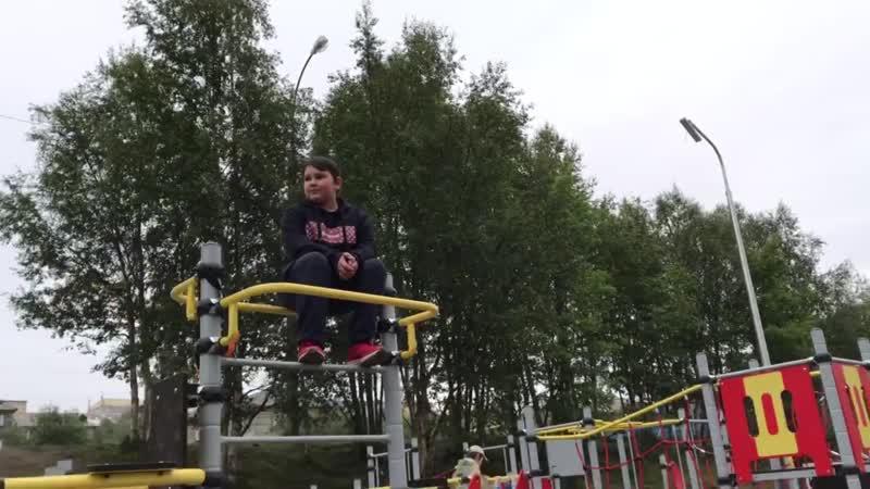 Отзыв детей о Спортивной площадке на ул. Чехова 11 Школа № 28 Мурманск vk.comoyama_mas
