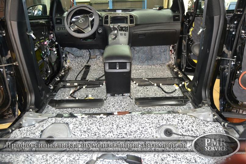 Шумоизоляция Toyota Venza, изображение №9