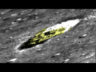 Alien Ship In Crater On Moon, 100% Proof Aliens Exist, Aug 2020, Photos, UFO Sighting News.