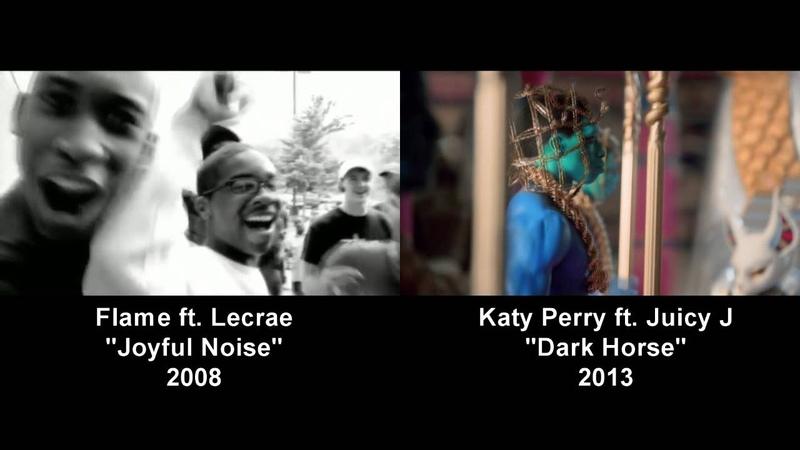 Flame Joyful Noise vs Katy Perry Dark Horse Mashup