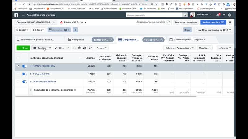 2. Repaso para gestión de campañas y visualización de resultados