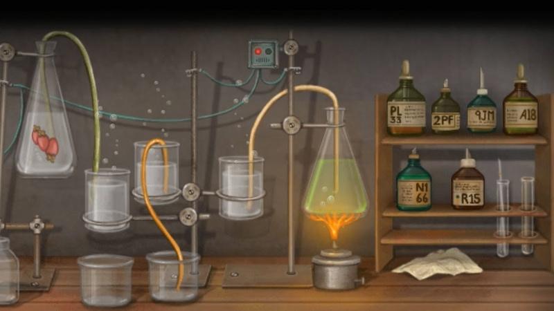Fran Bow Френ Боу ➤ Прохождение 26 ➤ Химия
