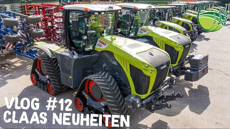 CLAAS XERION Traktor auf Kette | CLAAS Agritechnica Neuheiten | VLOG 12