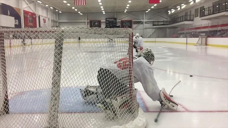 Philadelphia Flyers Development Camp Saturday Jun 30th 2018 Goalies and Defense Part 2