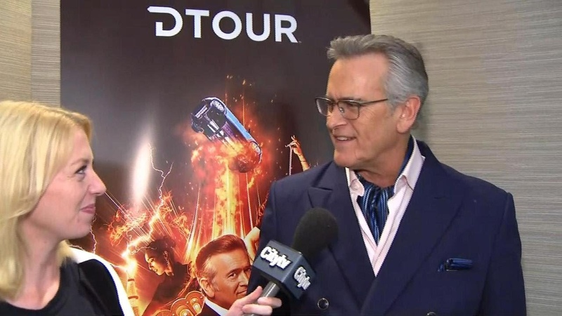 Talking to Bruce Campbell king of the Fan EXPO