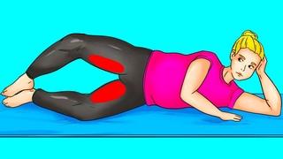 11 простых упражнений, которые сделают целлюлит не таким заметным всего за 2 недели
