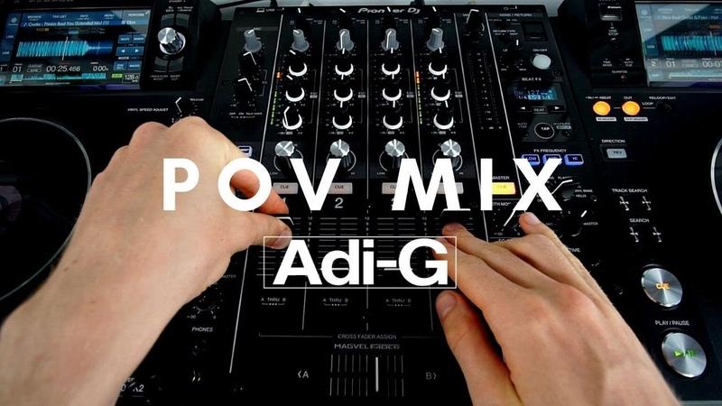 Adi G POV Point of View Easy EDM Transitions Live DJ Set on Pioneer XDJ 1000 MK2 DJM 750 MK2