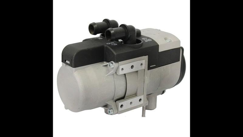Монтаж жидкостного моторного подогревателя Binar 5S Comfort disel на Патриот Iveco