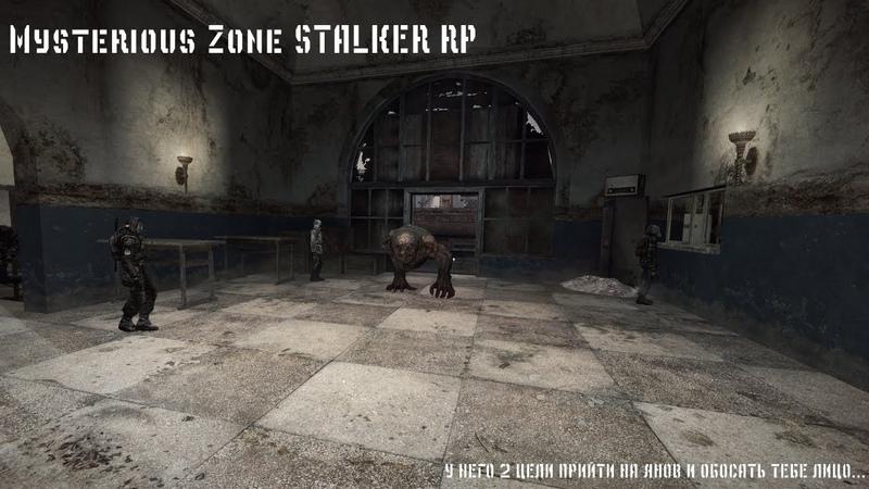 Mysterious Zone STALKER RP У НЕГО 2 ЦЕЛИ ПРИЙТИ НА ЯНОВ И ОБОСАТЬ ТЕБЕ ЛИЦО