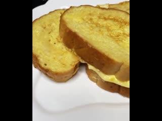 Сегодня готовим «Гренки с сыром» 👨🏼🍳