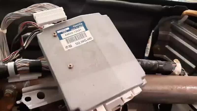 В продаже блок управления рейкой для Toyota Corolla/Allex/Runx/Fielder NZE/ZZE120/121/122