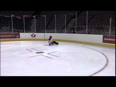 Sledge Hockey Skills Basic Turning