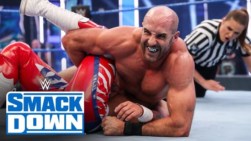Lince Dorado vs. Cesaro SmackDown, August 7, 2020