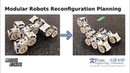 A Distributed Reconfiguration Planning Algorithm for Modular Robots