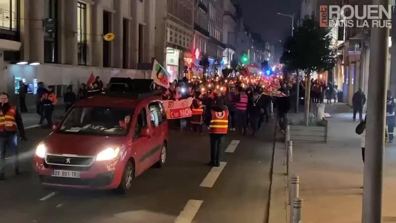 Rouen le 23 01