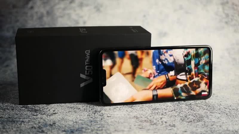 5G МОНСТР из Кореи на Snapdragon 855 – LG V50 ThinQ обзор смартфона