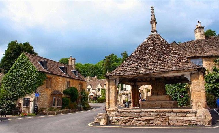 Касл Ком - самая красивая деревня в Англии!, изображение №8