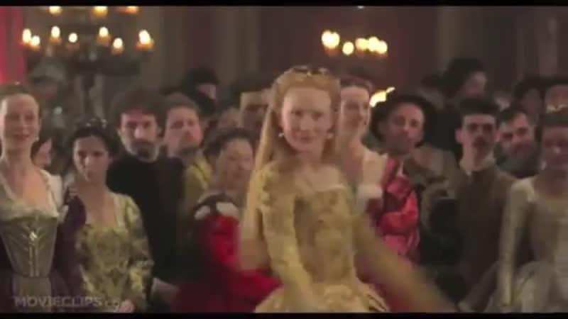 Танец Вольта Королева Елизавета английская
