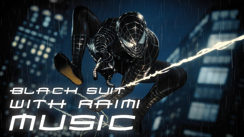 Spider Man PS4 Black Raimi Suit Music