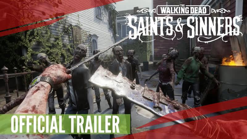 The Walking Dead Saints Sinners Meatgrinder Update Trailer Skydance Interact