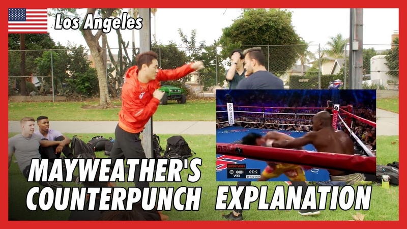 Explanation for Mayweather's Counterpunch in LA DK Yoo