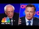 'Throw Your Hands Up!' Hickenlooper Mocks Sanders' Trademark Idiosyncrasy   NBC News