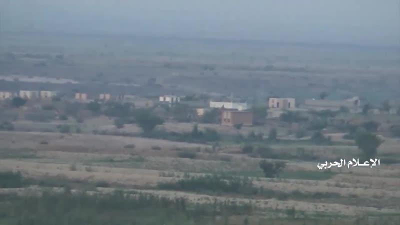 Рейд хуситов на позиции хадистов в районе Хайран Хаджа