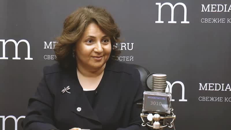 Светлана Баланова в гостях у Mediametrics