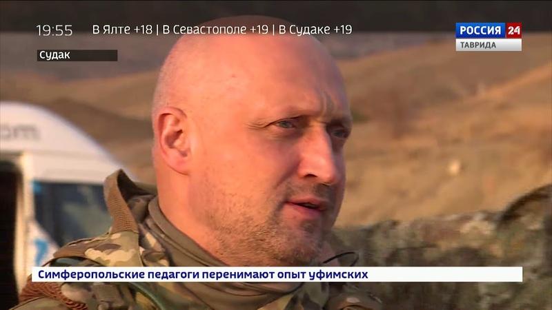 Террористы, военная техника и крымский закат: в Судаке снимают киноленту про любовь