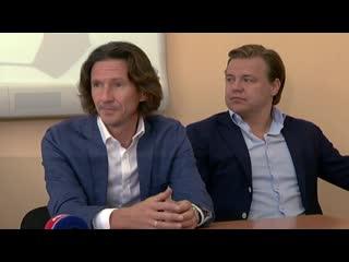 Встреча с футболистами