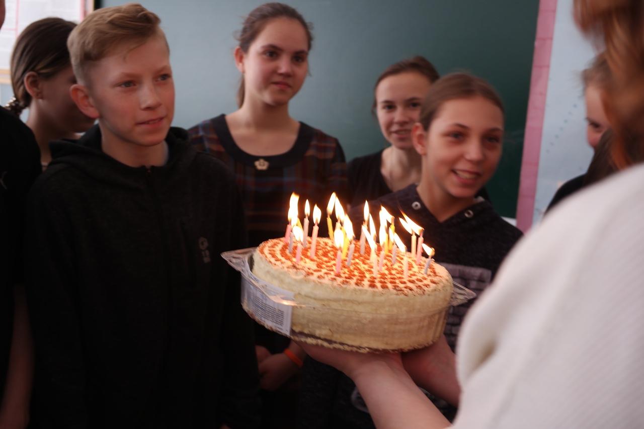 День рождения в Школе-интернате № 1 г.Донецк