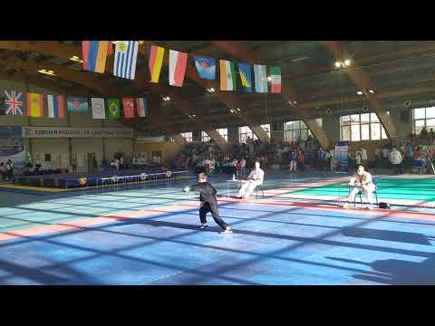 Клуб Юньшоу на международном турнире по традиционному ушу гошу Детские выступления