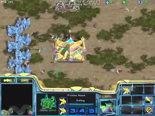 FPVOD REPS Tama vs iFU eOnzErG PvZ Game 2 Starcraft Brood War 2015