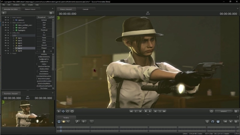 Making of Who's there and REDONE version SFM Timelapse