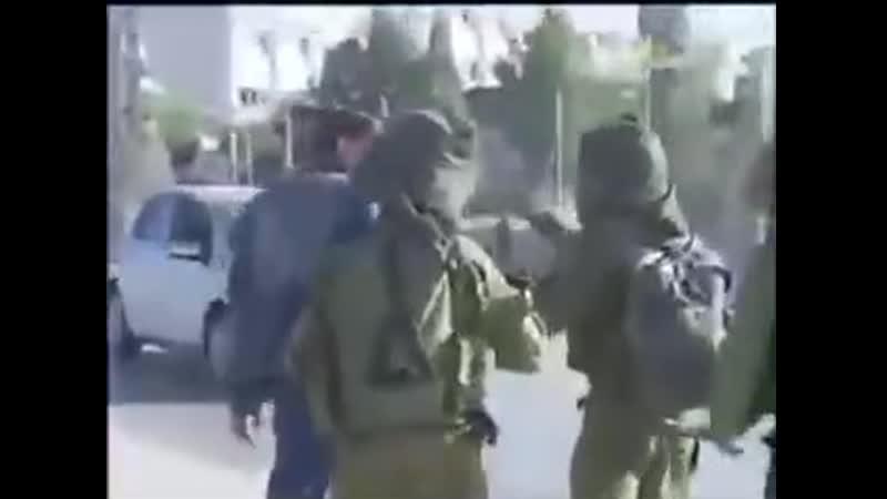 Ainsi sont les JUIFS sionistes israéliens!