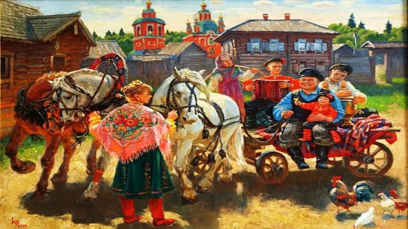 Душевные моменты жизни на картинах художника Константина Войнова