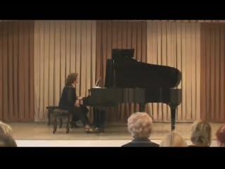 Концерт посвященный 145-летию со дня рождения Сергея Рахманинова (1 часть)