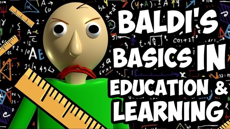 УЧИ МЕНЯ ПОЛНОСТЬЮ Baldi's Basics in Education and Learning PixelCakesFan