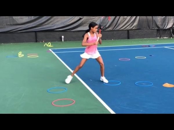 Footwork point patterns with former top ATP player and now Coach Brian Dabul