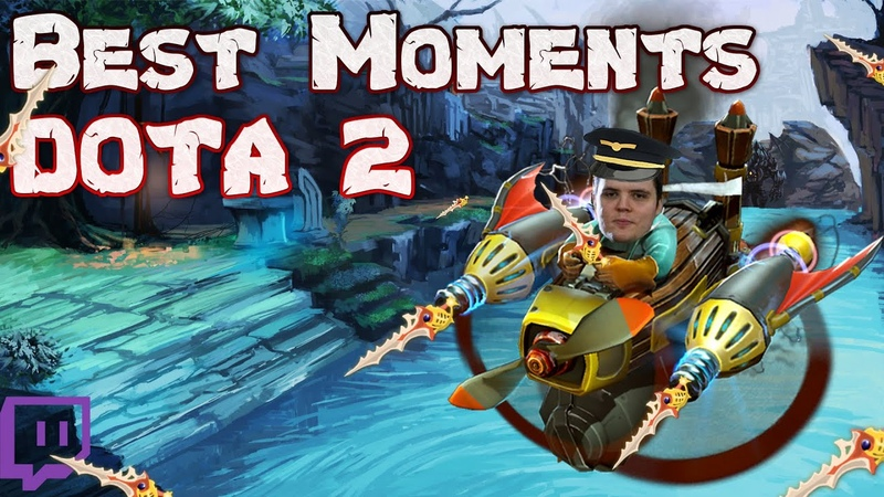 AdmiralBulldog RAMPAGE IN THE AIR FORCES DOTA 2 BEST FUNNY MOMENTS FROM TWITCH 2