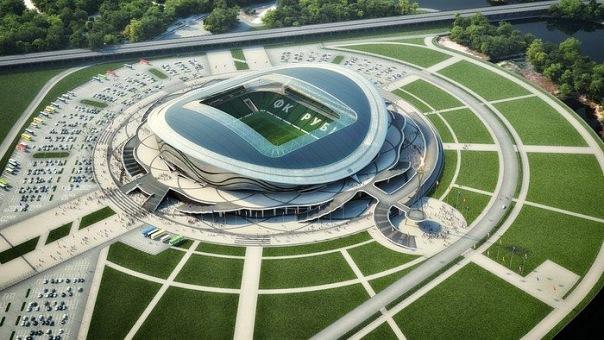 Проекты стадионов ЧМ по футболу 2018 в России