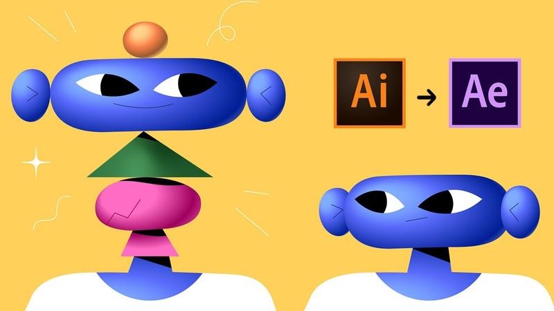 Illustrator to After Effects Workflow Tutorial ft. BUCK designer Johan Eriksson