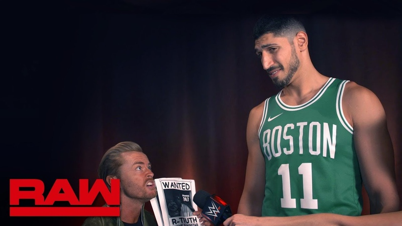 Enes Kanter reflects on his reign as 247 Champion Raw Exclusive, Sept. 9, 2019