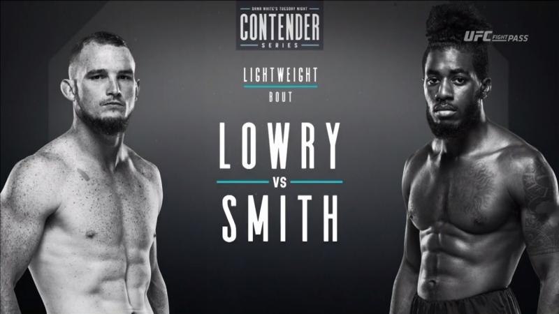 Dana White's Tuesday Night Contender Series S2E8: Joe Lowry vs Devonte Smith